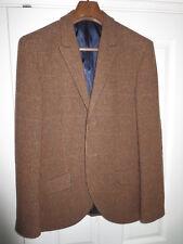 Para Hombre Jack Wills Cheque Clásico De Tweed Chaqueta Blazer M Mediano Casa de la moneda RARA!