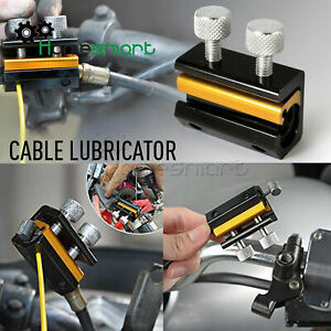 Dual Cable Lube Luber Lubricator Lubricant tool Motorcycle Scooter Bike AHS