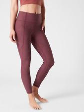 ATHLETA Salutation Stash Pocket Rainwater Tight, XS Soft Yoga #486406