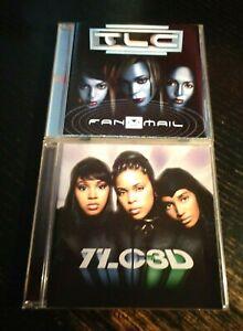 "2 CDs TLC ""Fanmail"" + ""3D"""