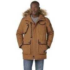 Men's Rocawear Hooded Parka Wheat XL #NJG1V-537