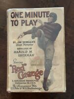 RED GRANGE ONE MINUTE TO PLAY by HAROLD SHERMAN 1926 Football Movie VG/VG