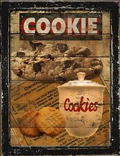 Primitive Country Home Decor Kitchen Diner Bakery Cookie Jar Wall Art Sign
