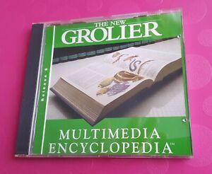 Grolier Multimedia Encyclopedia Vintage Educational Software