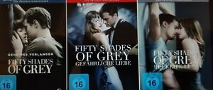 Fifty Shades of Grey 1 + 2 + 3 (Befreite Lust) 3 DVDs