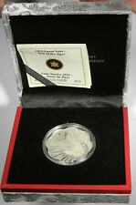 2010 CANADA $15 SILVER LUNAR LOTUS - YEAR OF THE TIGER PROOF - (NO OUTER SLEEVE)