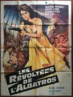 Plakat Les Empört De L'Albatros Pier Angeli Edmund Purdom Boot 120x160cm