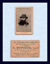 UK COLONIAL BOER GENERAL KOOS DE LA REY BOURGE FRANCE LIQUOR ADVERT CIRCA 1900