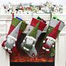 Christmas Stocking Personalised Embroidered Xmas Sack Santa Deluxe decoration