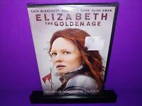 Elizabeth: The Golden Age (DVD, 2008) Cate Blanchett Brand New B385