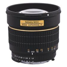 Samyang 85mm f1.4 AS IF UMC for Olympus 4/3 UPS 48H SALE! 2 years warranty!