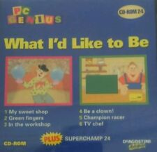 MATHS ENGLISH What I'd like to be | PC Genius Win 95 98 XP (7 8 10 see listing)