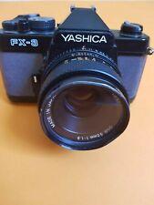 Kamera Yashica FX3 und Yashica 1.9 50mm Objektiv  Instruction