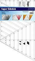 Super Sidekick Quilting Ruler by Jaybirdto cut Diamonds Triangles Half Triangles