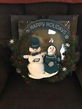 Brand New Philadelphia Eagles Snowman Wreath