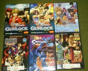 Bundle of 6 Anime VCD and DVD
