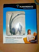 Plantronics Sound Innovation Cordless Phone Headset M214C Over The Head Style