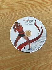Turbo Fire Core 20 Stretch 40 Stretch 10 Beachbody Disc ONLY