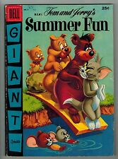 M.G.M.'s Tom and Jerry'S Summer Fun #3 - Dell Giant - 1956