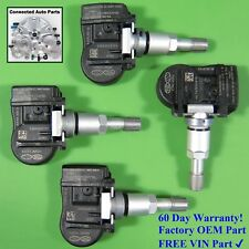 Set of 4 Hyundai Kia TIRE PRESSURE SENSOR TPMS OEM 52933-2M000 315 MHz SET-TS03