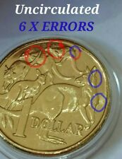 (New release) 2016 $1 (6 X Errors) Coin