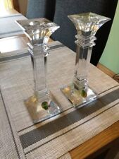 Marquis by Waterford Treviso 8 Inch Candle Holders Set of 2