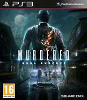 Murdered - Soul Suspect For PAL PS3 (New & Sealed)