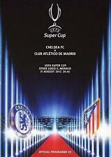 * 2012 SUPERCOPPA UEFA-Chelsea V Atletico Madrid *