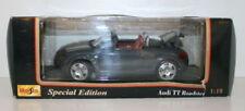 Coches, camiones y furgonetas de automodelismo y aeromodelismo Roadster Audi de escala 1:18