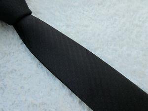 VERY DARK PURPLE SKINNY SLIM 2 inch polyester necktie TIE by CEDARWOOD STATE