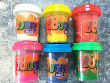 6x 56g Tubs Mont Marte Kids Play Dough Set Play Doh Clay Plasticine Toy Pretend