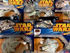 Star Wars™ HOT WHEELS Die Cast SAGA SHIPS Flight Navigator FIRST RUN Rebels Art