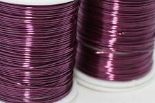Lilac Jewellery Wire 20,22,28 Gauge, Craft Wire Jewelry, Enameled Copper