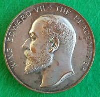 UK Edward VII medal The Peacemaker - Inter-Parliamentary Union Westminster 1906