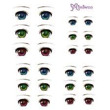 Parabox Eye Decal Sticker 01 for Obitsu 27cm Body 1/6 bjd Dollfie faceup Doll