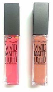 ***Maybelline Vivid Matte Liquid Lip Gloss - Available in 9 Shades***