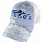 Skeeter Simms Blue Trucker Hat