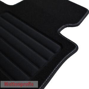 Premium Velour Fußmatten Autoteppiche für Mercedes B-Klasse W246 ab Bj.2011 -