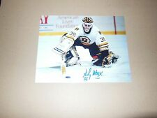 Boston Bruins Andy Moog  Autographed 8x10 Photo
