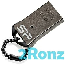 Silicon Power T01 32GB 32G USB Flash Drive Touch Nano Disk Mobile Tablet Metal