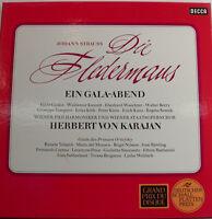 """J.Strauss Die Fledermaus Güdden-kmentt- Karajan- Decca 3LP ´S -12 """" LP [k408]"""