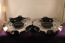LIMITED CHROME CUSTOM Wheel Center Caps (SET OF 2) P/N # N/A
