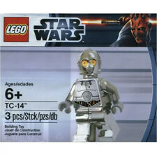 Genuine New Rare LEGO Star Wars Polybag - 5000063 - Chrome TC-14 -  SW0385