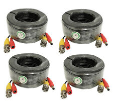 Premium Quality 4x100Ft Video and Power Cable fit Zmodo Cctv Security Cameras