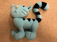 BOB THE BUILDER SOFT TOY PILCHARD THE CAT BEANIE