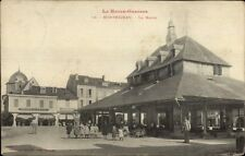 France - La Haute Garonne - Montrejeau La Halle c1905 Postcard