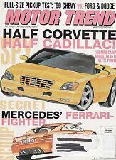Motor Trend Aug 1998 - Cadillac Eldoroadster - Cavalier Z24 Technic -Corvette HO