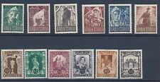 1947 - 1948 Austria SEMI POSTALS; MOSTLY MH; CV $27