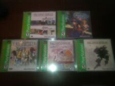 US Final Fantasy Chrono Trigger Chrono Cross mega Pack Neu Sony PlayStation one