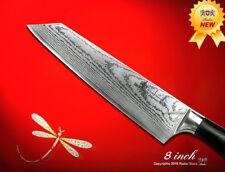 Japanese Damascus Kiritsuke 8.0 inch Chef's Knife Kitchen Cutlery Food Slicer